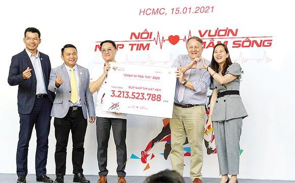 Tập đoàn Xây dựng Hòa Bình tài trợ chính với kinh phí 300 triệu ủng hộ phẫu thuật miễn phí cho trẻ em nghèo mắc bệnh tim bẩm sinh