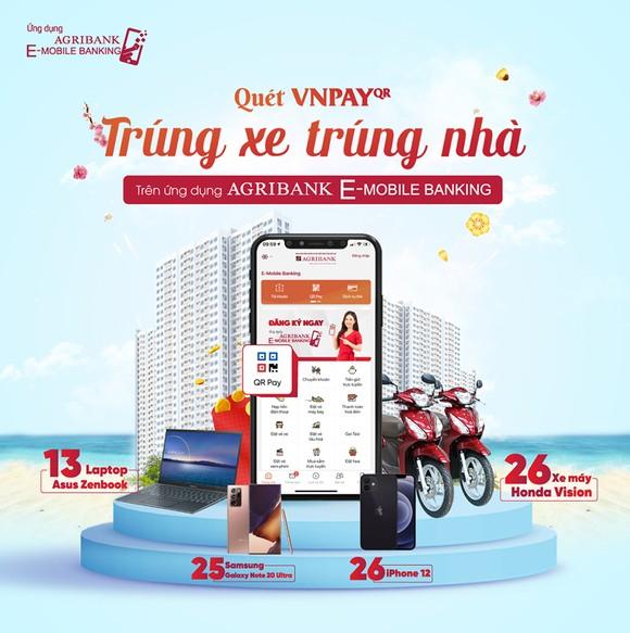 Đón Tết Tân Sửu 2021 - Thanh toán QR Pay nhận 'siêu quà tặng' trên ứng dụng Agribank E-Mobile Banking ảnh 1