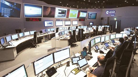 Trung tâm kiểm soát của ESA tại châu Âu