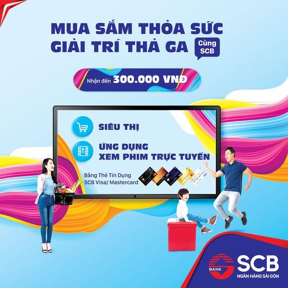 SCB triển khai chương trình 'Mua sắm thỏa sức - giải trí thả ga' ảnh 1