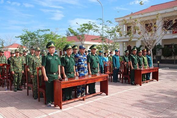 Đồn Biên phòng Cần Thạnh tổ chức 'Ngày chạy thể thao quân sự' 2021 ảnh 2