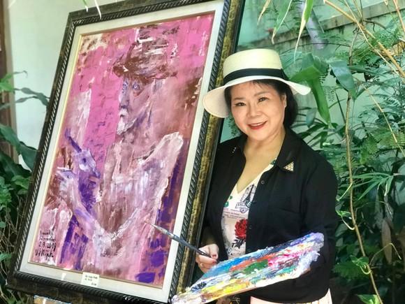 Triển lãm tranh 'Memories of home land'- 'Kỷ niệm hương quê' của họa sĩ Văn Dương Thành  ảnh 1