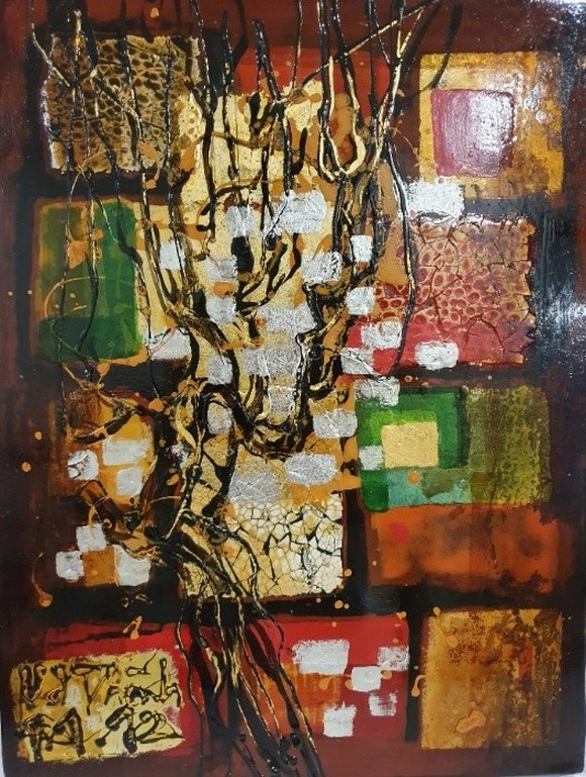 Triển lãm tranh 'Memories of home land'- 'Kỷ niệm hương quê' của họa sĩ Văn Dương Thành  ảnh 6