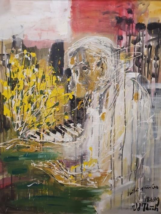 Triển lãm tranh 'Memories of home land'- 'Kỷ niệm hương quê' của họa sĩ Văn Dương Thành  ảnh 10