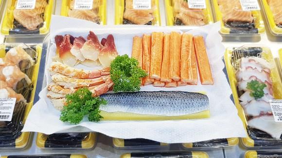 Satramart Siêu thị Sài Gòn đưa vào hoạt động quầy sushi tự chọn ảnh 3