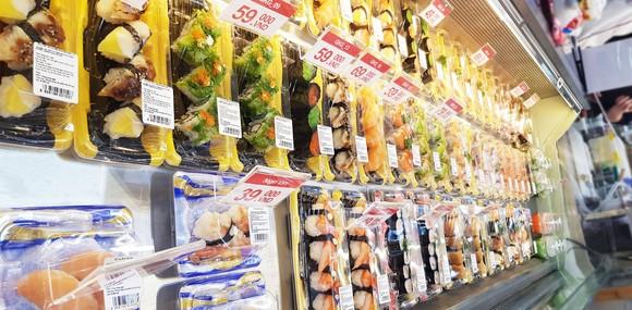 Satramart Siêu thị Sài Gòn đưa vào hoạt động quầy sushi tự chọn ảnh 2