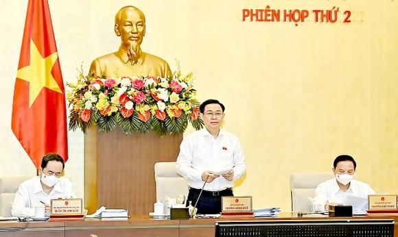 Phiên họp thứ 2 của Ủy ban Thường vụ Quốc hội