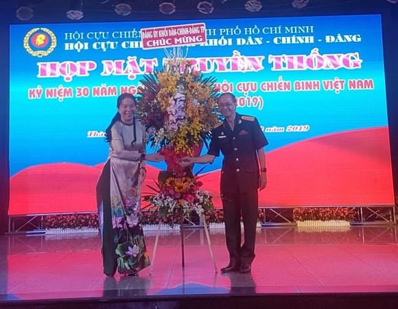Họp mặt các thế hệ cựu chiến binh Việt Nam Khối Dân - Chính - Đảng TPHCM ảnh 2