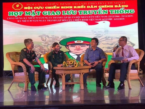 Họp mặt các thế hệ cựu chiến binh Việt Nam Khối Dân - Chính - Đảng TPHCM ảnh 3