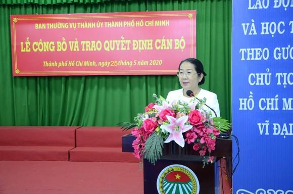 Đồng chí Nguyễn Thanh Xuân giữ chức vụ Bí thư Đảng đoàn Hội Nông dân TPHCM      ảnh 1