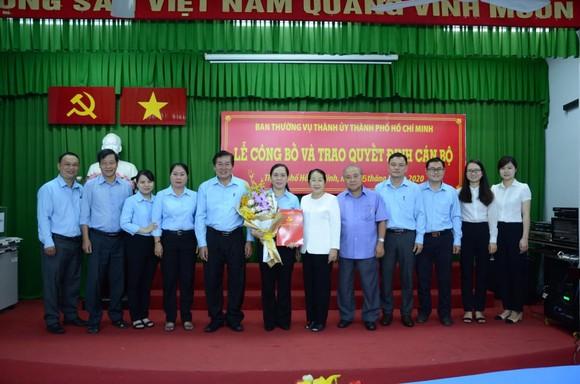 Đồng chí Nguyễn Thanh Xuân giữ chức vụ Bí thư Đảng đoàn Hội Nông dân TPHCM      ảnh 3