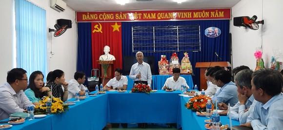 Đoàn lãnh đạo TPHCM thăm, chúc tết các đơn vị     ảnh 1