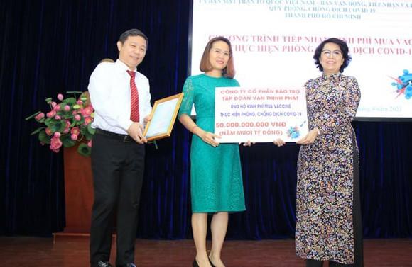 Quỹ phòng, chống dịch Covid-19 TPHCM đã tiếp nhận tiền, hàng trị giá gần 270 tỷ đồng ảnh 3
