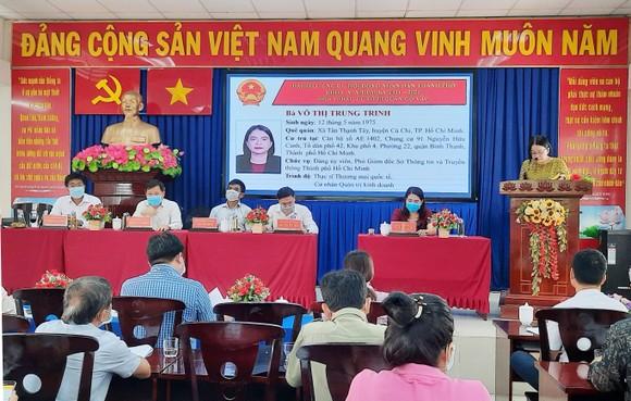 Chương trình hành động của các ứng cử viên đại biểu HĐND TPHCM bám sát với yêu cầu phát triển     ảnh 1