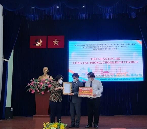 Các cơ quan ngoại giao đoàn tại TPHCM ủng hộ hơn 5 tỷ đồng phòng, chống dịch Covid-19    ảnh 2