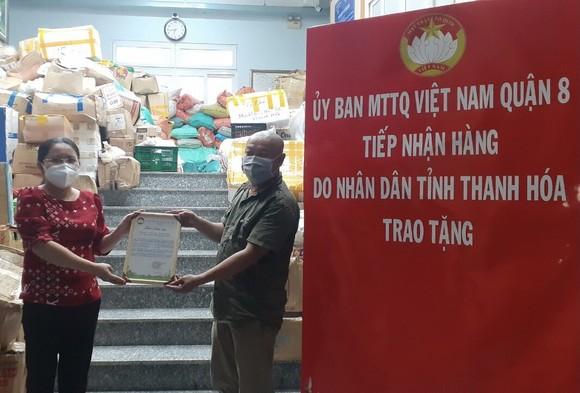 Nhiều địa phương gửi hàng hỗ trợ người dân TPHCM   ảnh 1