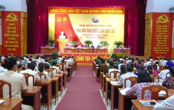Khai mạc Đại hội Đại biểu điểm Đảng bộ thị xã Phước Long ảnh 2