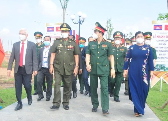 Khánh thành cụm công trình lưu niệm hành trình cứu nước của Thủ tướng Campuchia Hun Sen ảnh 3