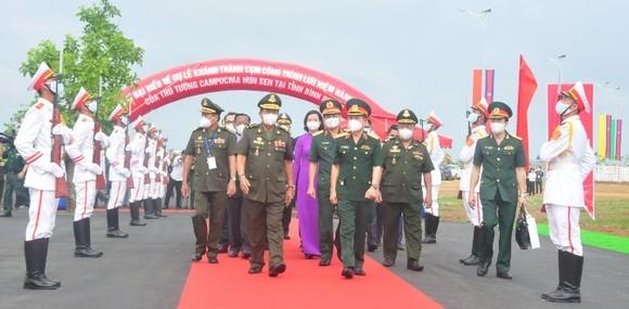 Khánh thành cụm công trình lưu niệm hành trình cứu nước của Thủ tướng Campuchia Hun Sen ảnh 2