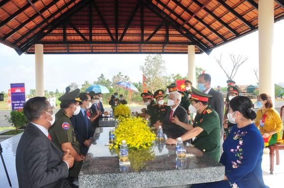 Khánh thành cụm công trình lưu niệm hành trình cứu nước của Thủ tướng Campuchia Hun Sen ảnh 4