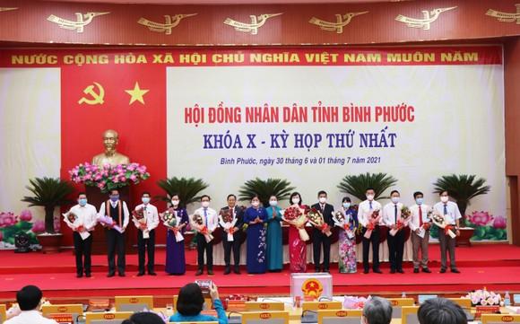 Đồng chí Huỳnh Thị Hằng tiếp tục làm Chủ tịch HĐND tỉnh Bình Phước ảnh 2