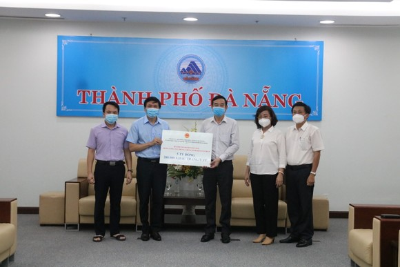 TP Hải Phòng trao 5 tỷ đồng và 200.000 khẩu trang hỗ trợ TP Đà Nẵng chống dịch ảnh 1