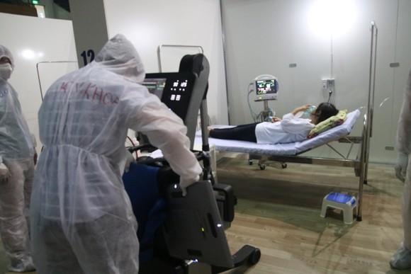 Bệnh viện dã chiến Tiên Sơn diễn tập tiếp nhận bệnh nhân với số lượng lớn ảnh 11