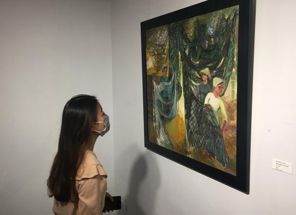 Nét đẹp Phụ nữ Việt qua bàn tay người họa sĩ ảnh 4