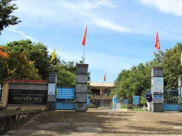 Quảng Nam cho học sinh nghỉ học từ ngày 4-5 để phòng chống dịch
