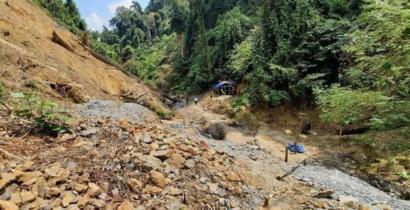 Quảng Nam đánh sập 75 hầm vàng tại Vườn Quốc gia Sông Thanh ảnh 1