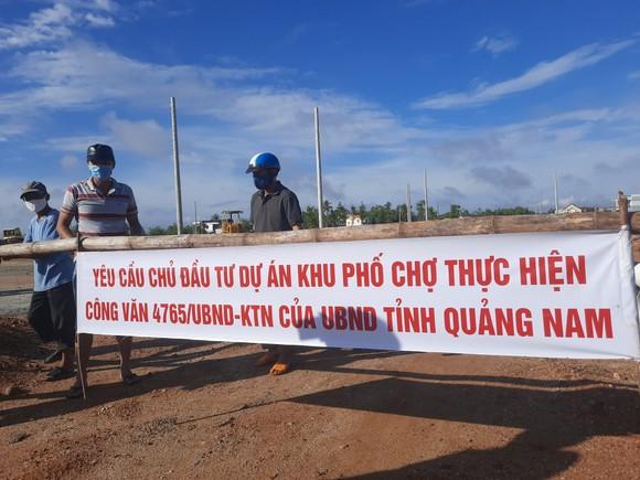 Quảng Nam: Người dân bức xúc khi chủ đầu tư thi công dự án gây ngập nhà dân ảnh 1