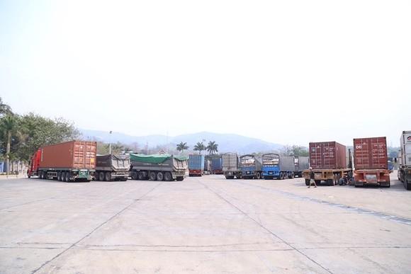Hàng trăm xe container 'rồng rắn' tại cửa khẩu ảnh 3