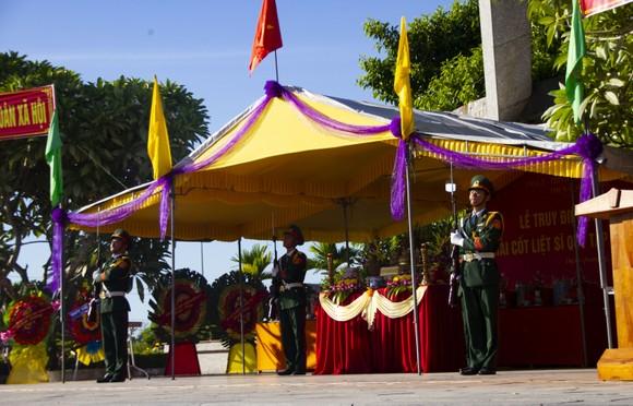 Quảng Trị tổ chức Lễ truy điệu và an táng 10 hài cốt liệt sĩ  ảnh 3