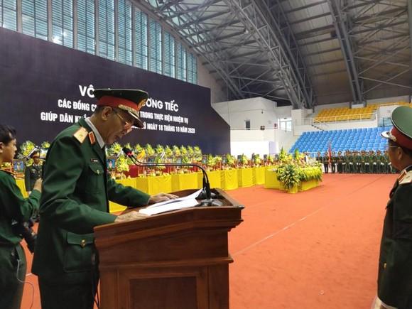 Lễ viếng và truy điệu 22 liệt sĩ Đoàn Kinh tế - Quốc phòng 337 hy sinh tại Quảng Trị  ảnh 13