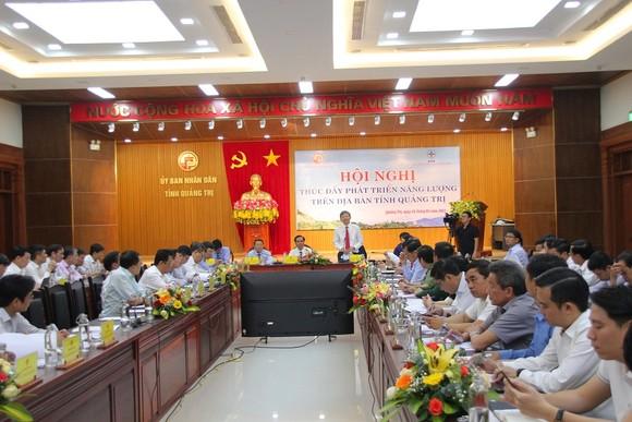 Tập trung tháo gỡ khó khăn cho các dự án năng lượng ở Quảng Trị ảnh 1