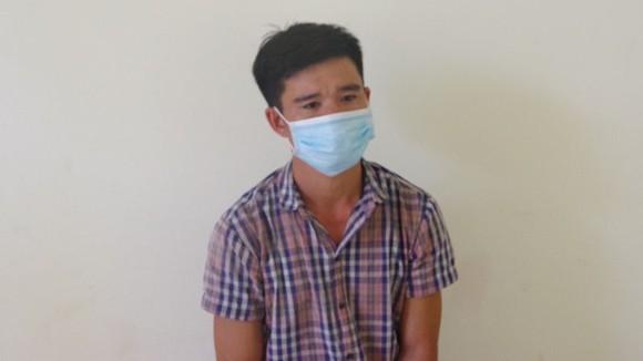Đối tượng Phạm Viết Tường bị lực lượng chức năng bắt giữ