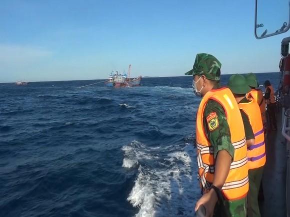 Quảng Trị: Phát hiện nhiều tàu giã cào đánh bắt trái phép ảnh 1