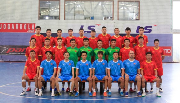 Đội tuyển futsal Việt Nam chuẩn bị cho vòng play-off World Cup 2021