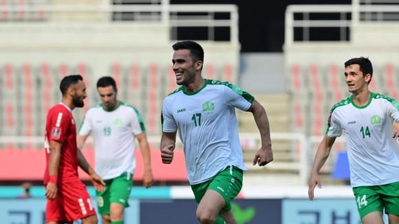 Turkmenistan đánh bại Lebanon vào chiều 9-6. Ảnh: AFC