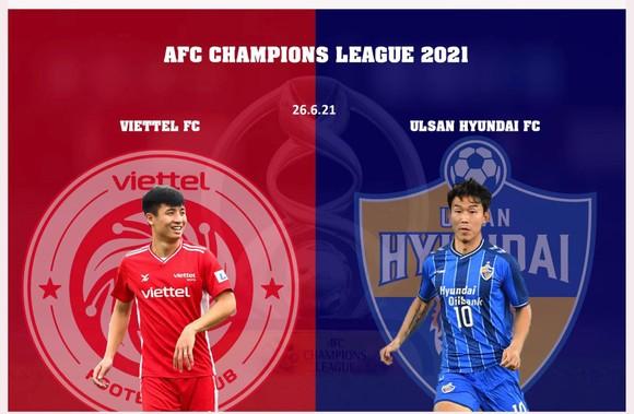 Nhà vô địch V-League Viettel FC đầy quyết tâm cho lần đầu tiên tham dự AFC Champions League. Ảnh: CLB