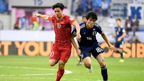 Công Phượng và đồng đội từng nhận thất bại 0-1 trước Nhật Bản tại Asian Cup 2019. Ảnh: AFC