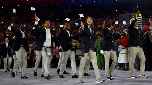 Đoàn thể thao dành cho người tị nạn tại Olympic Rio 2016. Ảnh: BUSINESS INSIDER