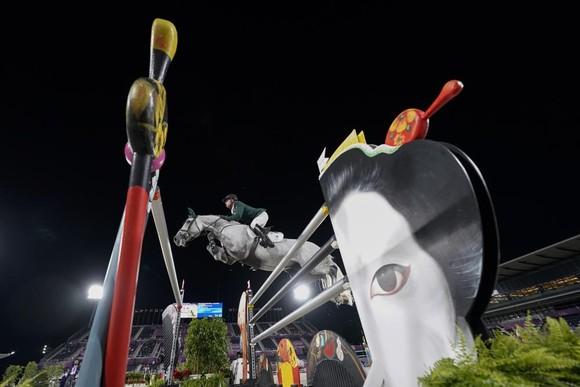 Tranh cãi võ sĩ Sumo bị tố làm ngựa đua Olympic hoảng sợ ảnh 1