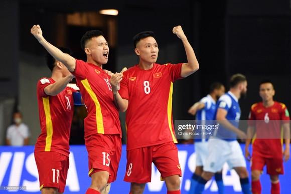 Một trận hòa trước CH Czech ở lượt trận cuối bảng D sẽ giúp đội tuyển Việt Nam vượt qua vòng bảng Futsal World Cup 2021. ẢNH: GETTY