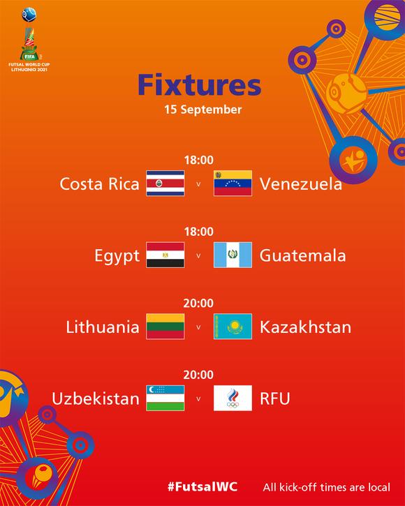 Futsal World Cup 2021: Xác định những tấm vé đầu tiên đi tiếp? ảnh 2