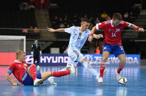 Argentina gặp Brazil ở bán kết Futsal World Cup 2021 ảnh 1