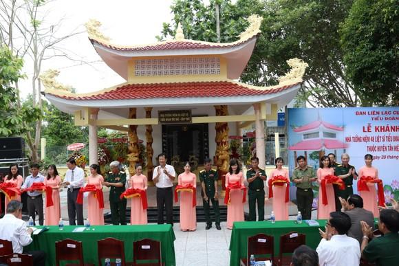 Khánh thành Nhà tưởng niệm các anh hùng liệt sĩ Tiểu đoàn Tây Đô tại Tân Hiệp ảnh 1