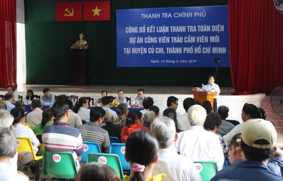 Công bố kết luận thanh tra toàn diện dự án Công viên Sài Gòn Safari ảnh 1
