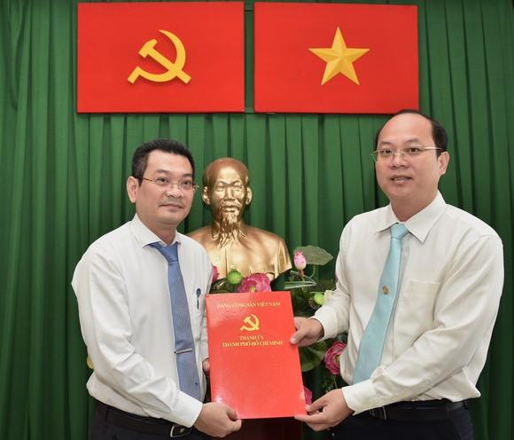 Đồng chí Hoàng Minh Tuấn Anh giữ chức Phó Bí thư Quận ủy Quận 7 ảnh 1