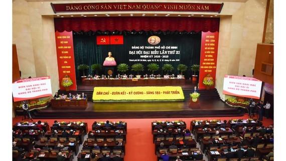 Ban Chấp hành Đảng bộ TPHCM khóa X đã thể hiện rõ bản lĩnh chính trị, kiên định mục tiêu ảnh 1